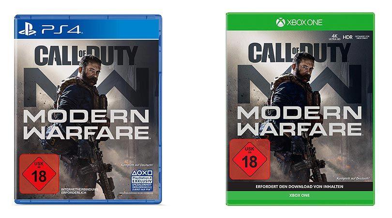 Call Of Duty Modern Warfare Playstation 4 Und Xbox One Fur Je 49 99 Modern Warfare Call Of Duty Nintendo Switch