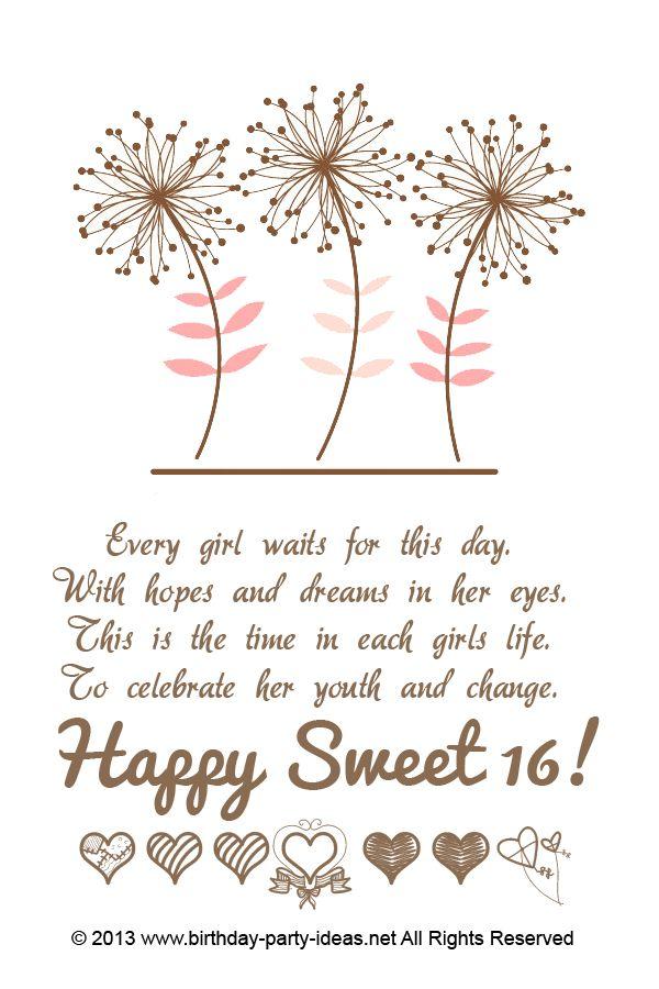 16th Birthday Party Invitation Ideas | Sweet 16 | Pinterest | 16th ...