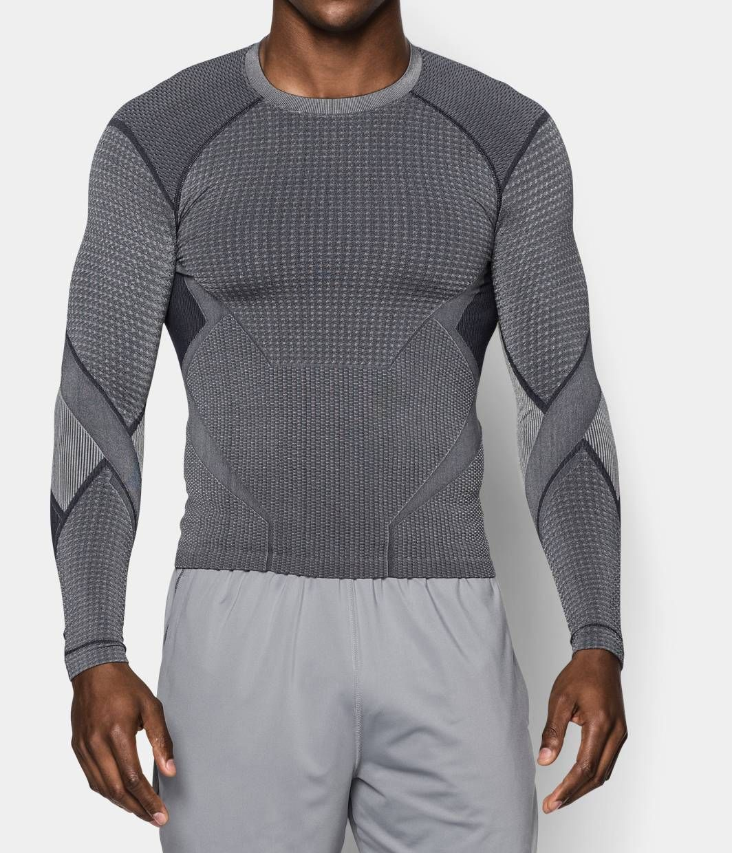 d00e2a38 Men's Quicksilver Seamless Long Sleeve Compression Shirt | Under Armour US