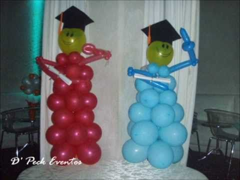 decoracion con globos on Pinterest | Balloon Flowers, Youtube and ...