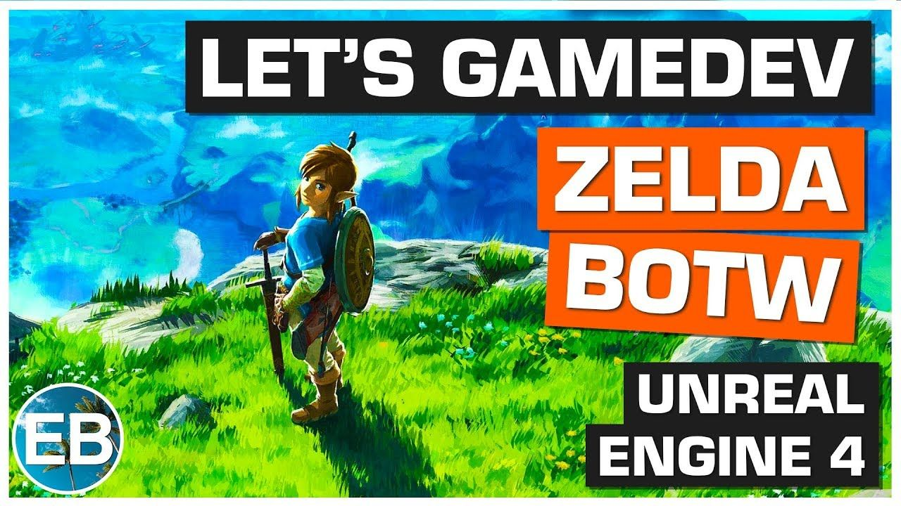 ANNONCE LET'S GAMEDEV - THE LEGEND OF ZELDA : BREATH OF THE