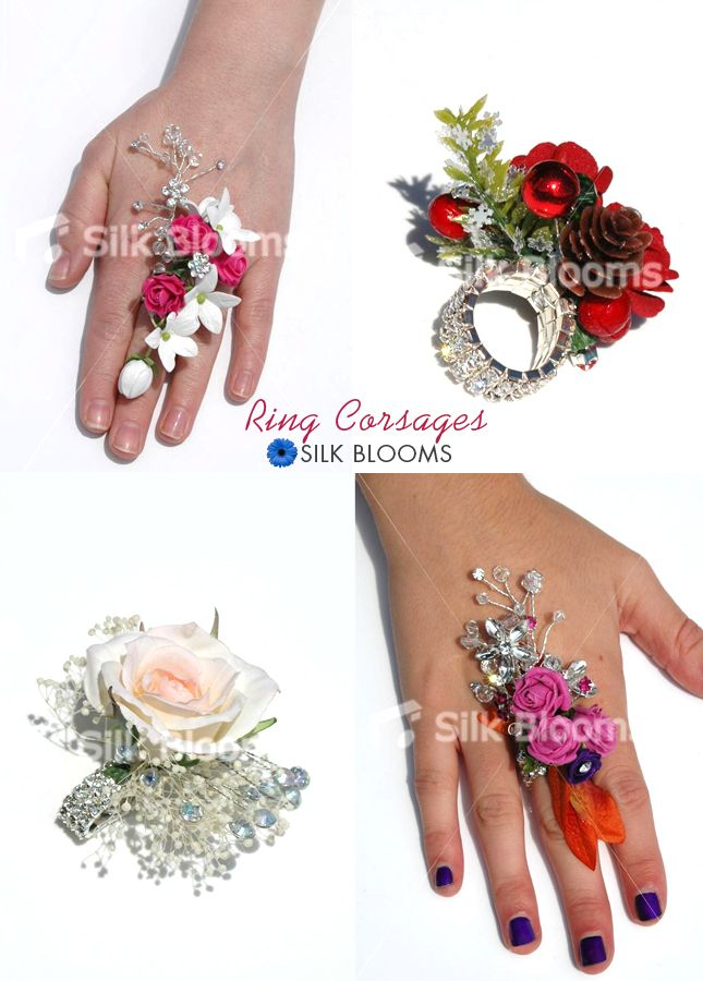 Trend alert: Ring corsages! - Silk Blooms Blog