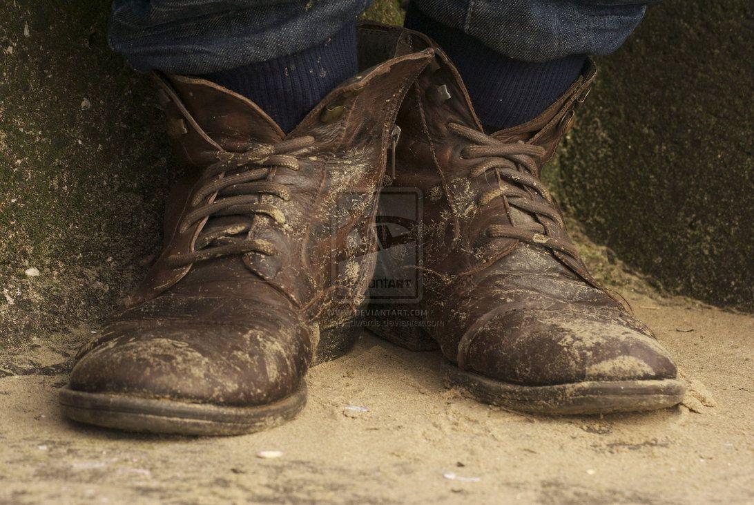 old boots by marpez on DeviantArt