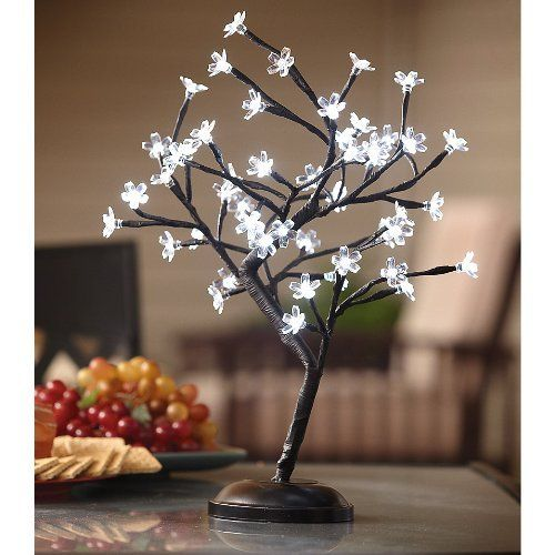 Led Lighted Cherry Blossom Tree Lamp Different Versions