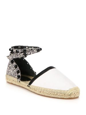 free shipping tumblr clearance under $60 Rebecca Minkoff Mesh Studded Espadrilles clearance newest sale outlet footaction KTYMY6