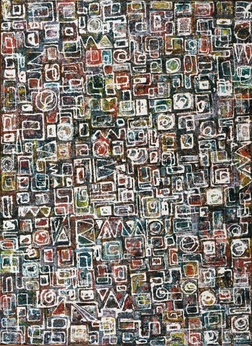 Lee Krasner Composition, 1949 | Abstract Art | Lee krasner ...
