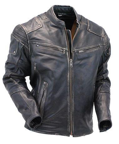 Real Hero Leather Biker Jacket in 2020 | Stylish jackets