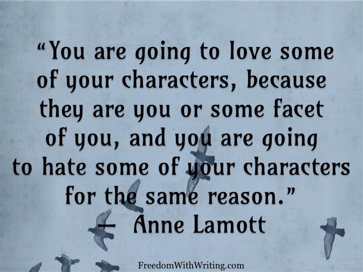 Words of Wisdom from Anne Lamott