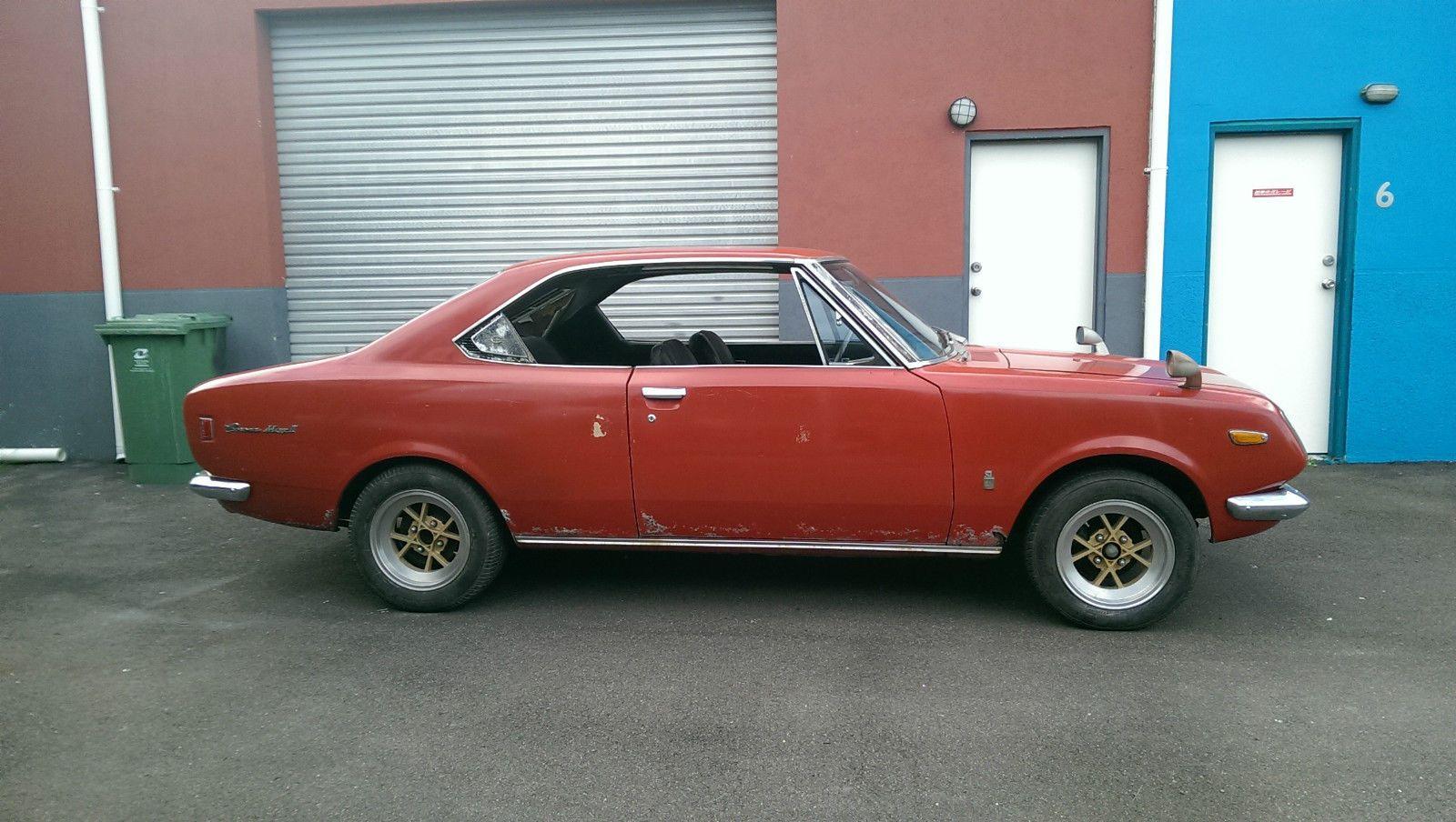 Toyota corona mark ii rt72 classic rare jdm coupe barn find project ta22 240k ebay