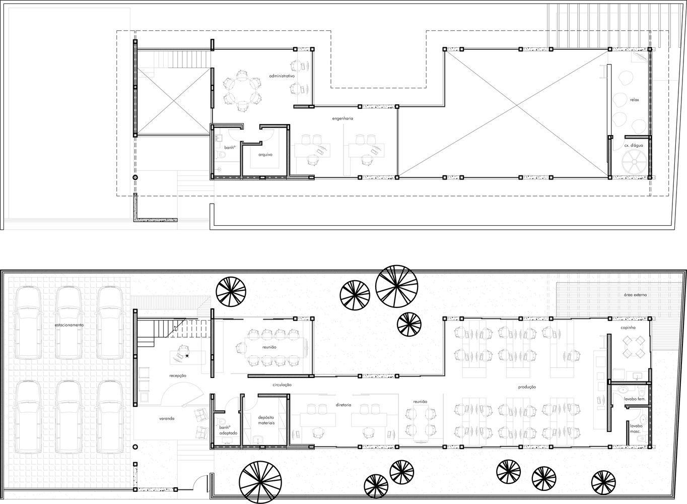 Galeria de Escritório dos Arquitetos / Skylab Arquitetos - 15