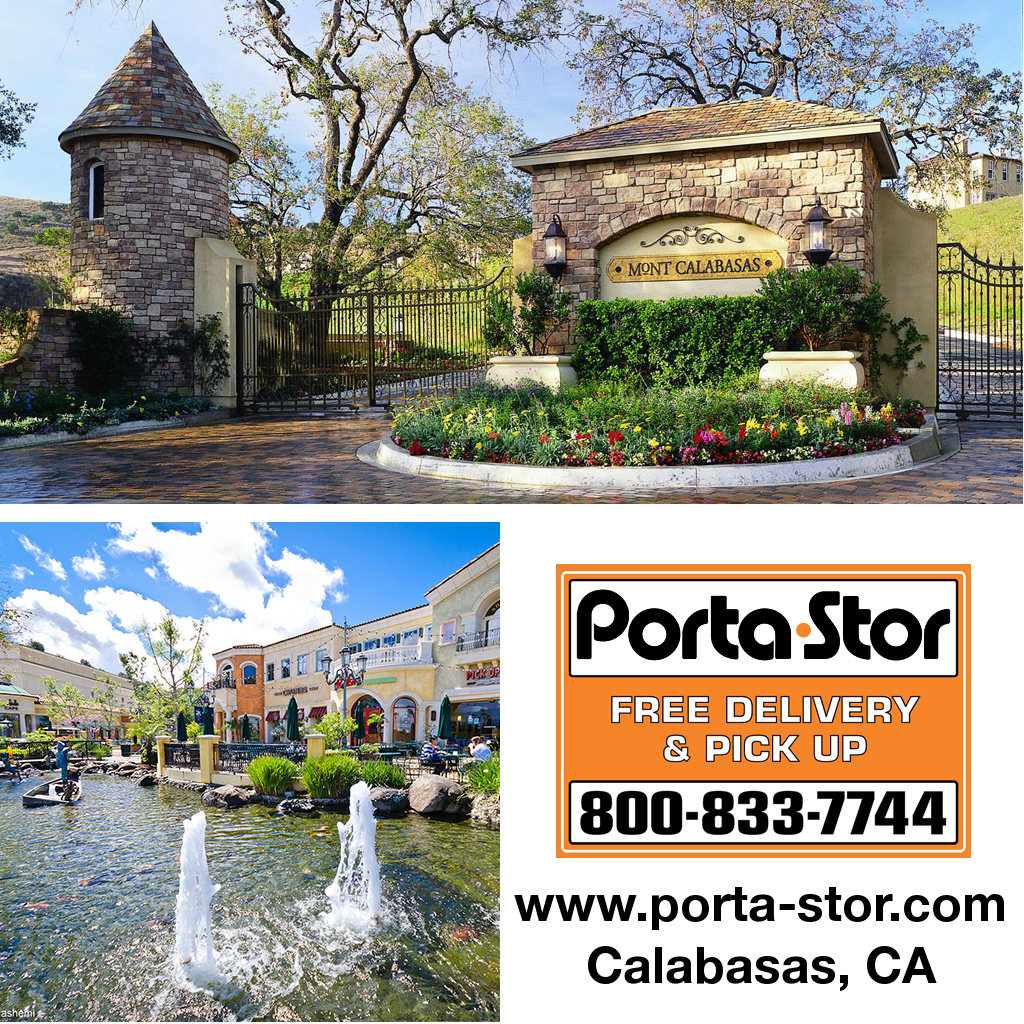 Need to Rent Portable Storage Containers in Calabasas call Porta