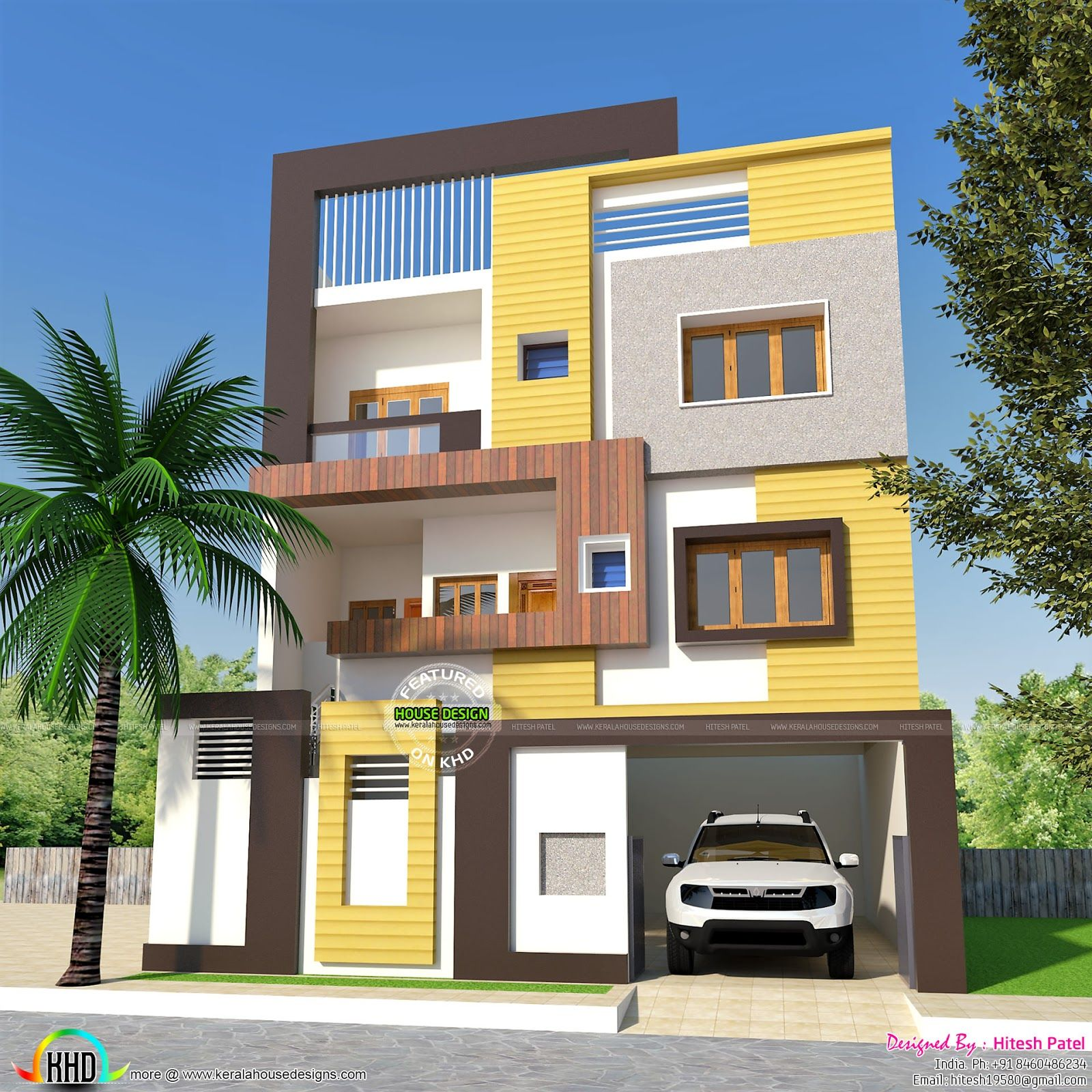2 BHK, small double storied home 1200 sq-ft | 2bhk house ...