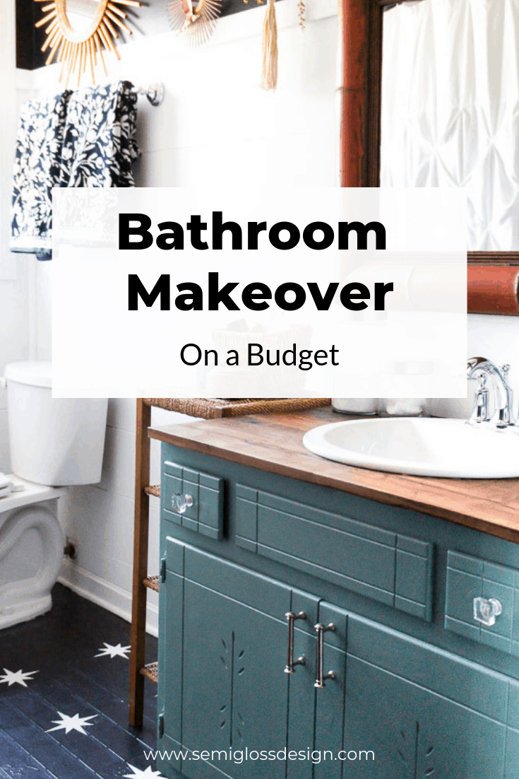 Bathroom Makeover With Paint Bathroom Ideas On A Budget Diy Bathroom Decor Budget Bathroom Bathroom Makeover