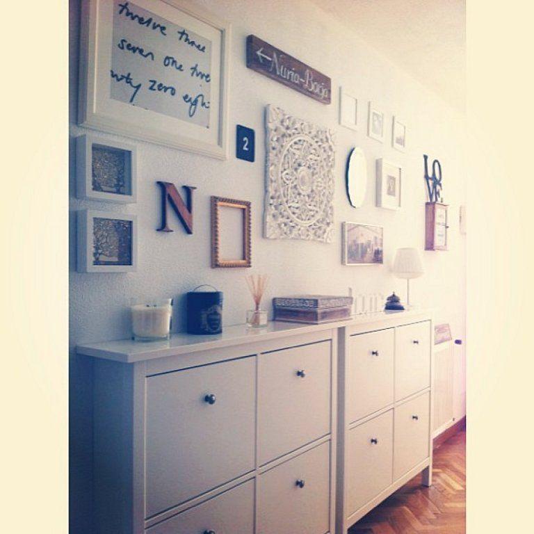 Zapatero HEMNES de IKEA   Consejos de decoracin  Home Decor Home decor inspiration y Decor