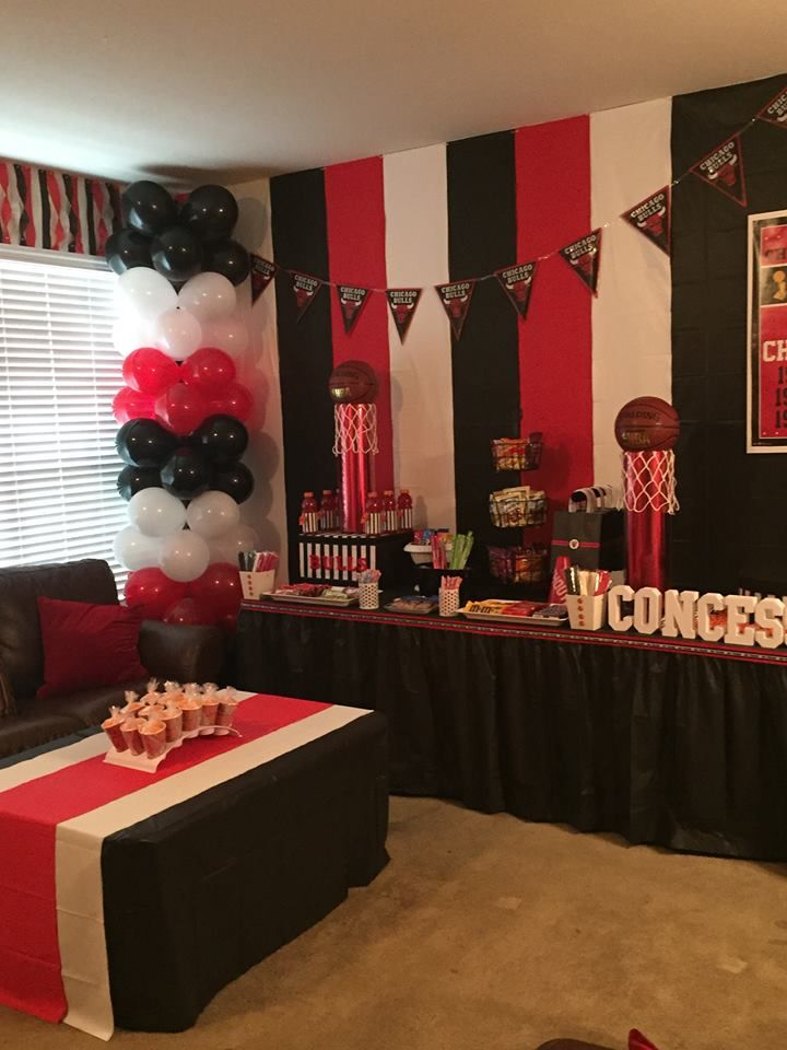 Concessions Golden Birthday Parties Basketball 16th Bash