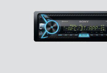 Sony Music System Sony Media Player Mex N4150bt 3 Music System