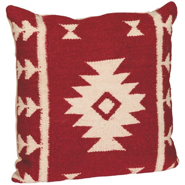 American Furniture Warehouse Online Shopping: 18x18 Red Lone Star Pillow By RIZZY HOME Is Now Available