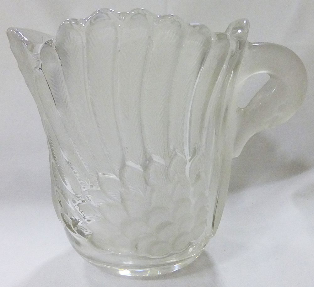 Mikasa walther art deco crystal and frosted glass swan vase mikasa walther art deco crystal and frosted glass swan vase germany floridaeventfo Choice Image