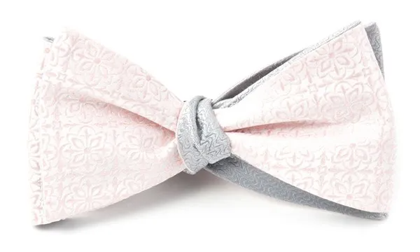 Opulent Static Blush Pink Bow Tie Men S Bow Ties Mens Bow Ties Pink Bow Tie Blush Pink Ties