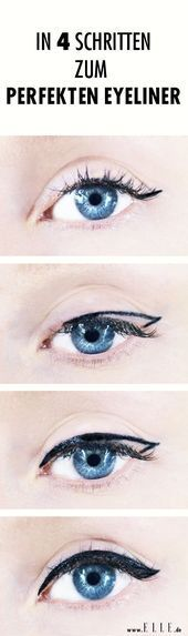It's so easy to get the perfect eyeliner in four steps! Give it a try! -  It's so easy to get the perfect eyeliner in four steps! Give it a try! …,  #out #it #Eyeline - #Easy #Eyeliner #Give #it39s #perfect #SmokyEye #steps