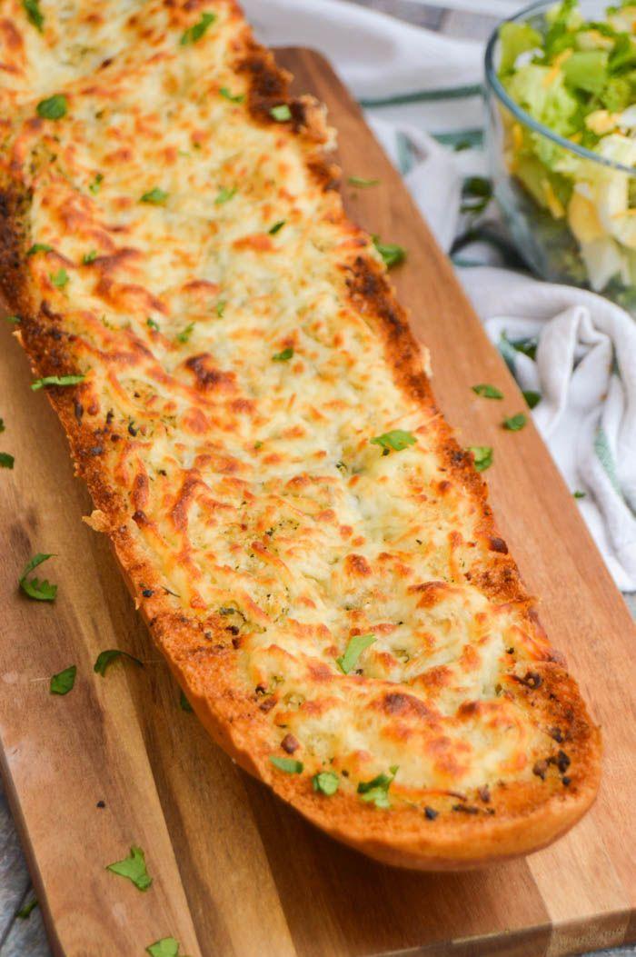 Easy Homemade Garlic Bread #bread #garlicloaf #side ...