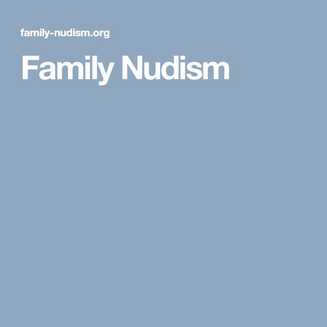 Nudists pagent Family beauty