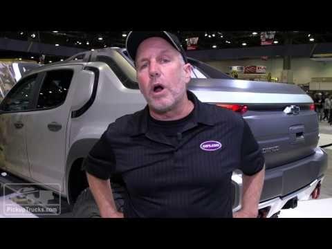 Chevrolet Colorado Zh2 Concept Ad1 Ad2 From The 2016 Sema Show