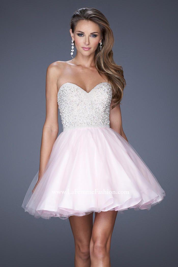 5287facdbdd La Femme Short Homecoming Dress 20033