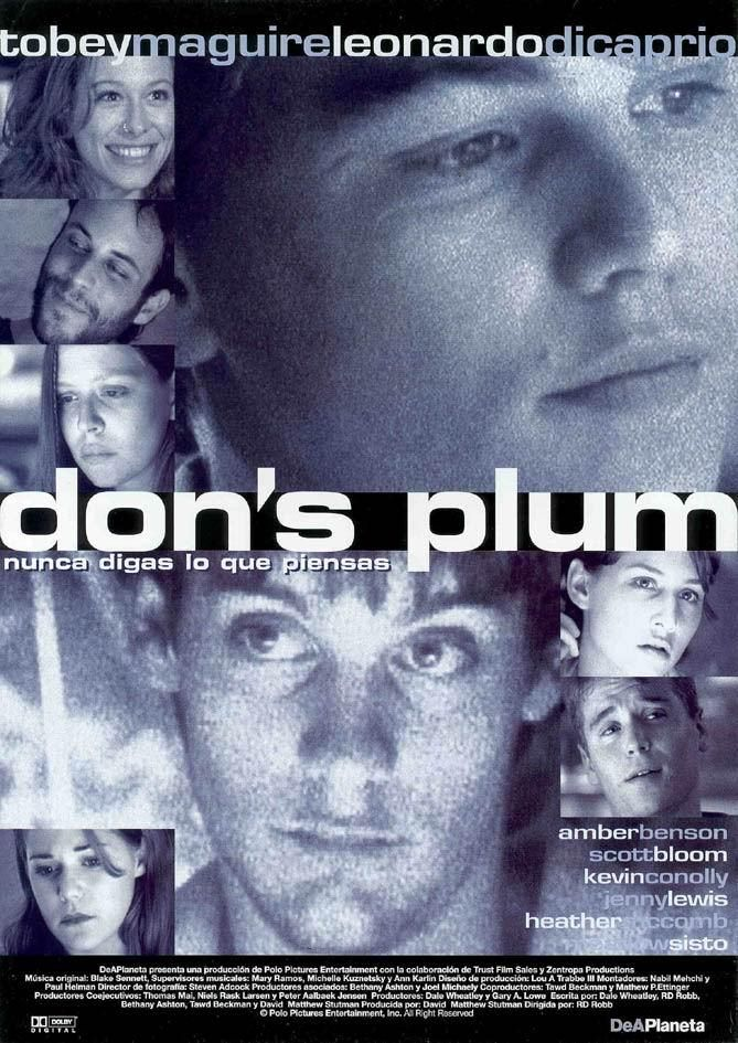 Don S Plum Nunca Digas Lo Que Piensas 2000 Leonardo Dicaprio Leonardo Dicaprio 90s Leonardo Dicaprio Movies