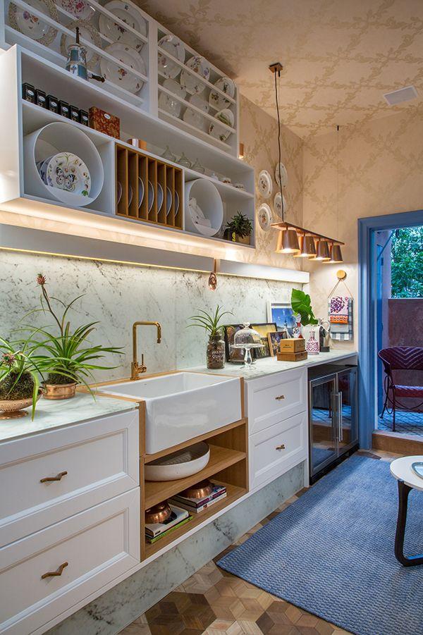 17 ambientes inspiradores da casa cor rio 2016 for Cocinas externas