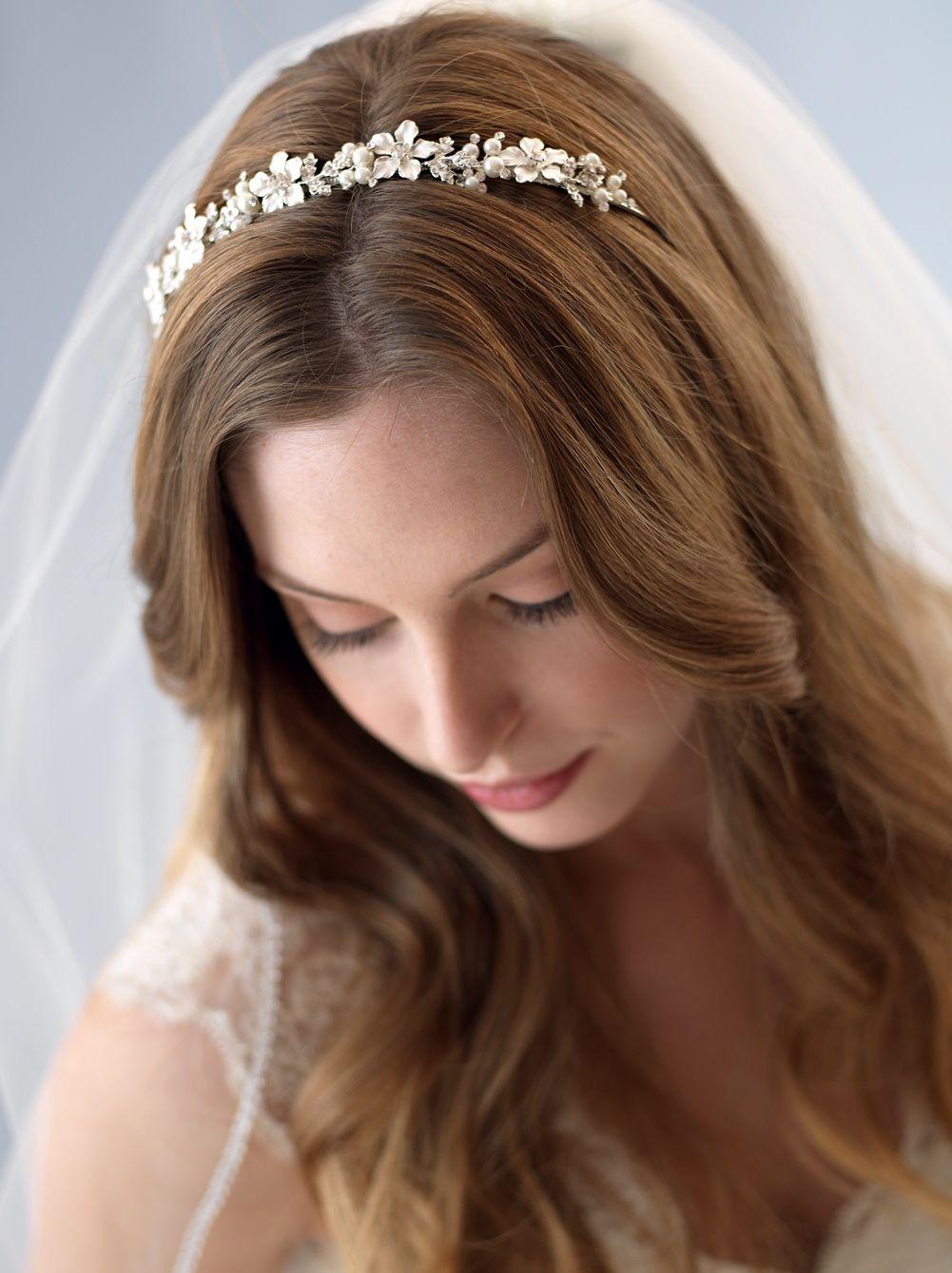 wedding headbands | wending | wedding headband, pearl