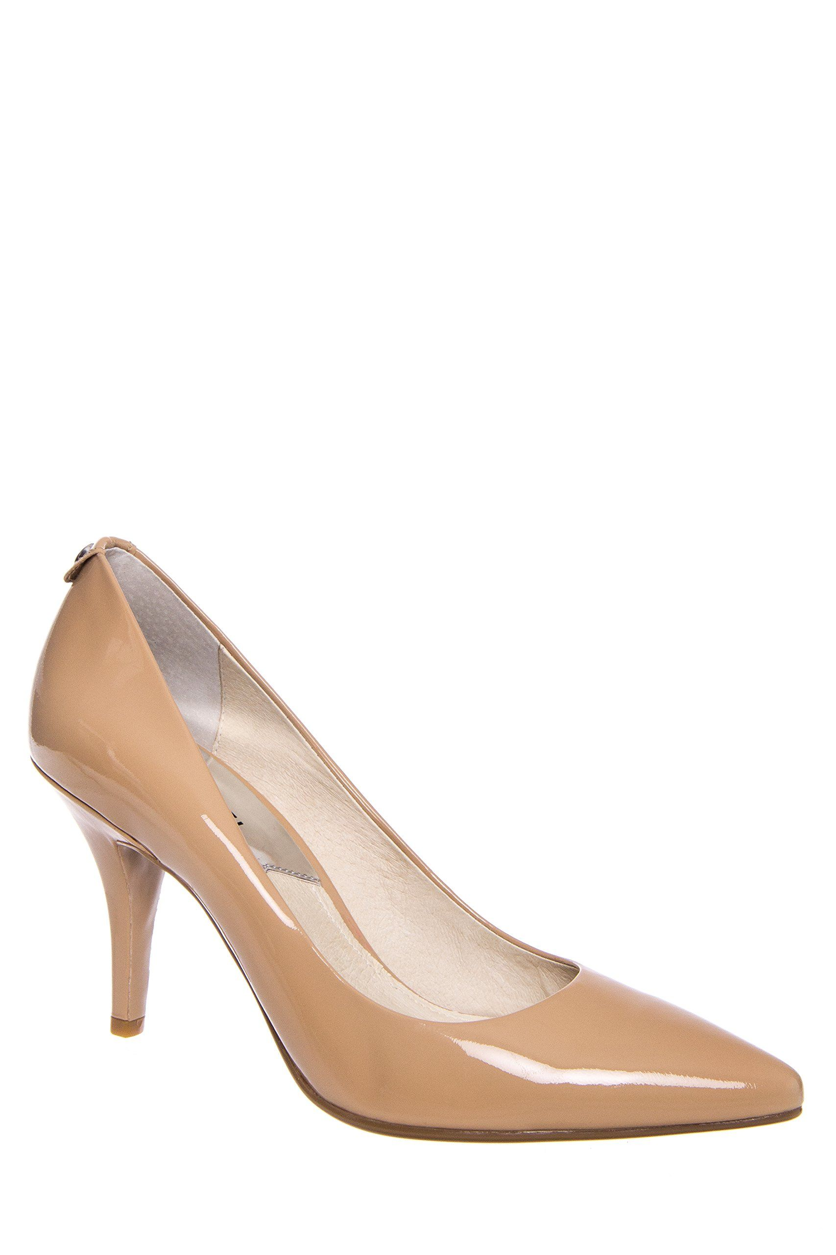 aaa0d34ac008 MICHAEL Michael Kors Women s MK Flex Mid Pump Nude Patent Pump 8.5 M. Made  in USA or Imported.