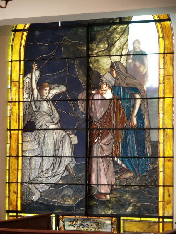 Description: Charleston, South Carolina (SC): St. Michael's Episcopal Church, 71: Easter Morning (1897, artist Tiffany)