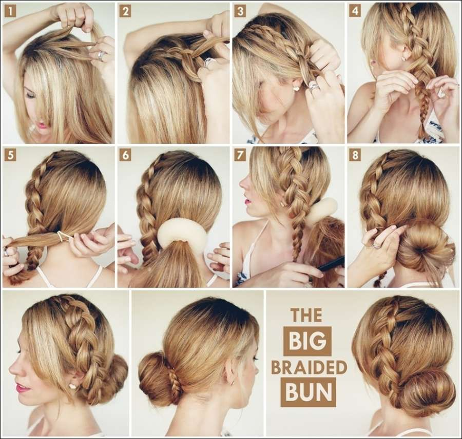 60 Simple DIY Hairstyles for Busy Mornings | Easy hairstyles