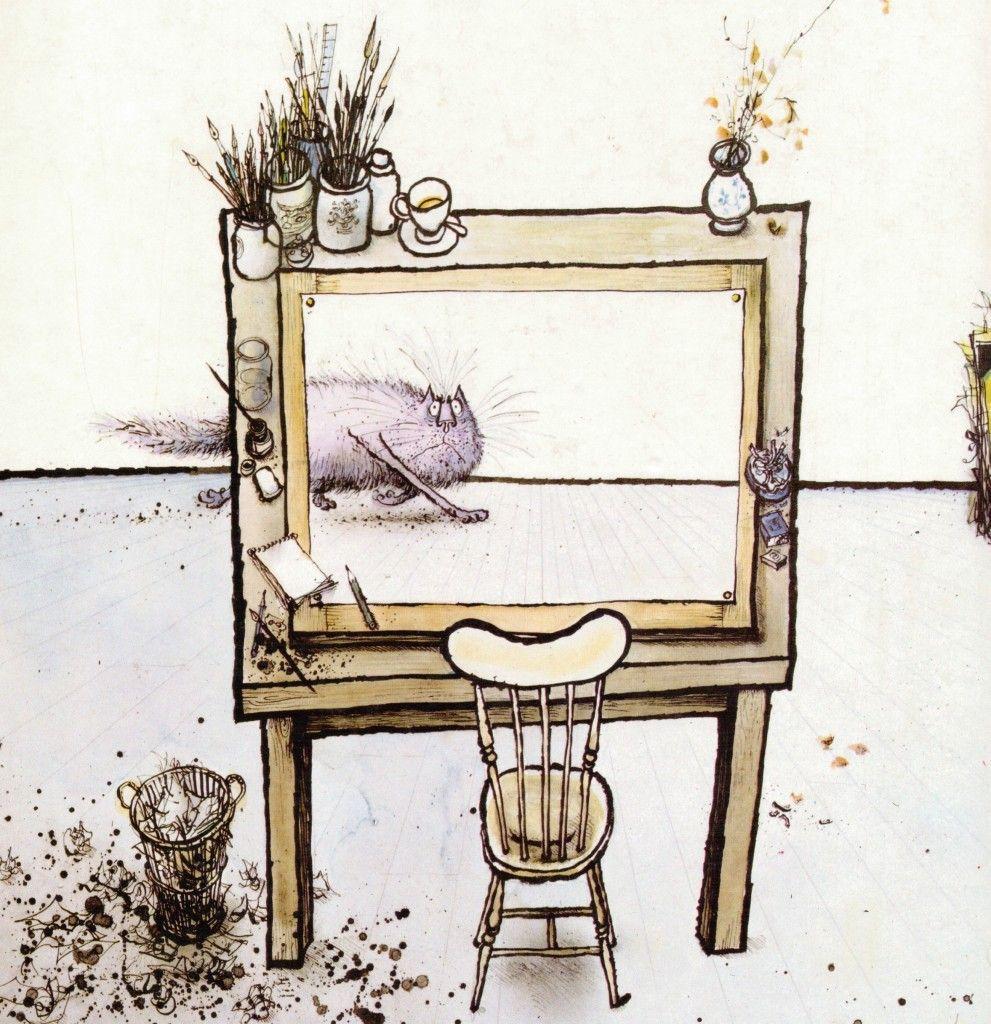 Pin on Ronald Searle Drawings