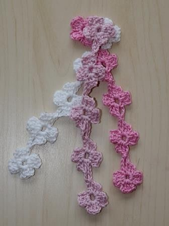 Diese Blumenkette eignet sich für vieles: Man kann sie als Armband ...