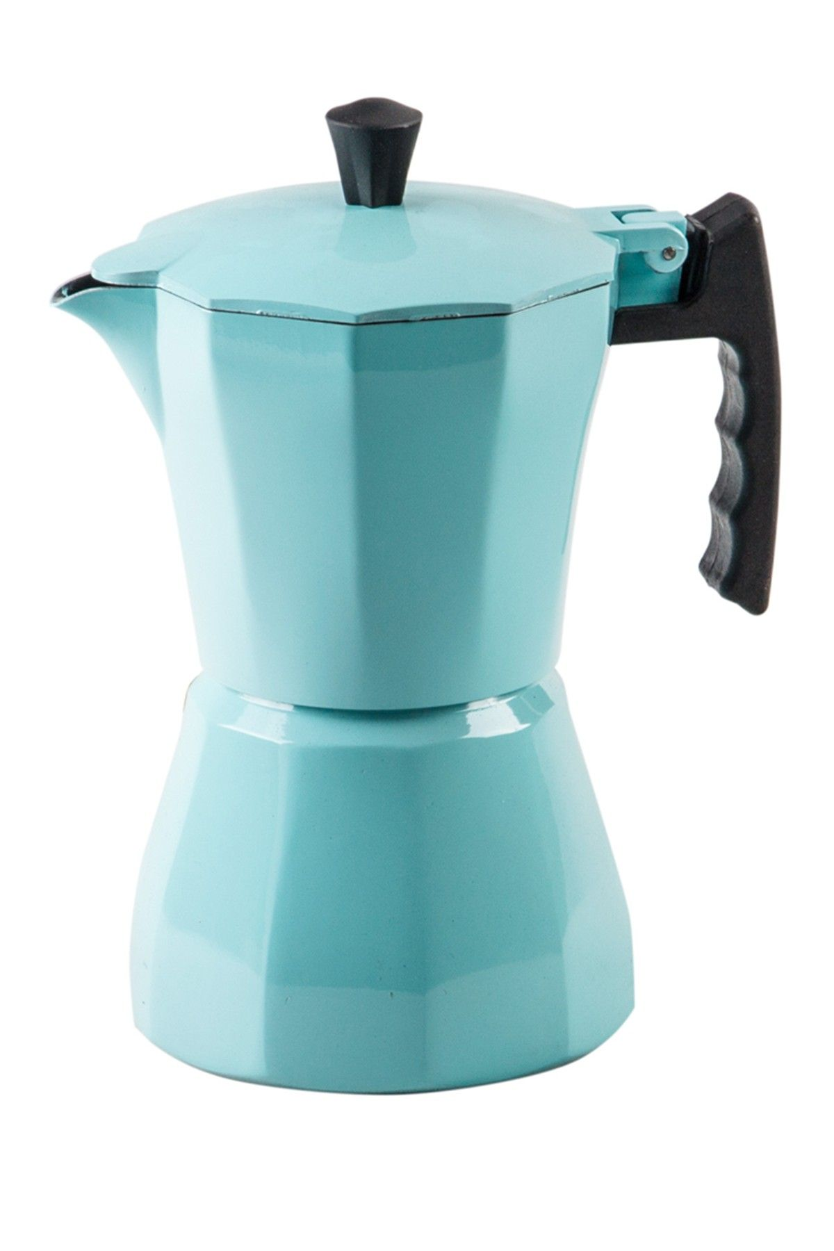 Home Essentials and Beyond | 3-Cup Turquoise Espresso Maker #espressomaker