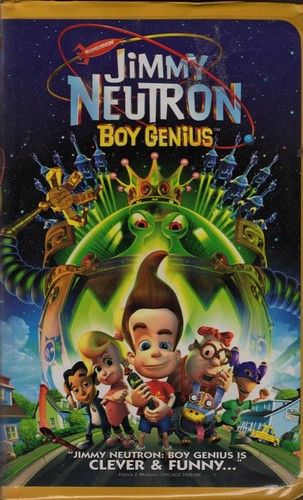 jimmy neutron boy genius on vhs tested plays great see now