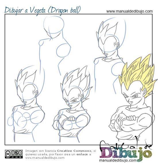 Como Dibujar Vegeta