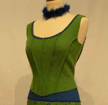 07-853 Pattern-Company Schnittmuster Mieder | Tracht | Pinterest ...