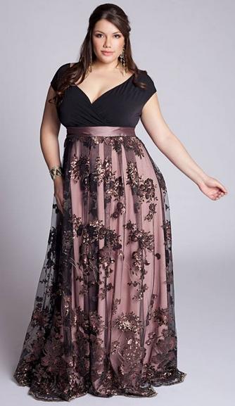 Modelos De Vestidos Plus Size Vestido De Festaformatura