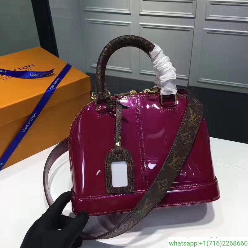 faf5304ce1cc Louis Vuitton Patent Leather Alma BB M54785  280