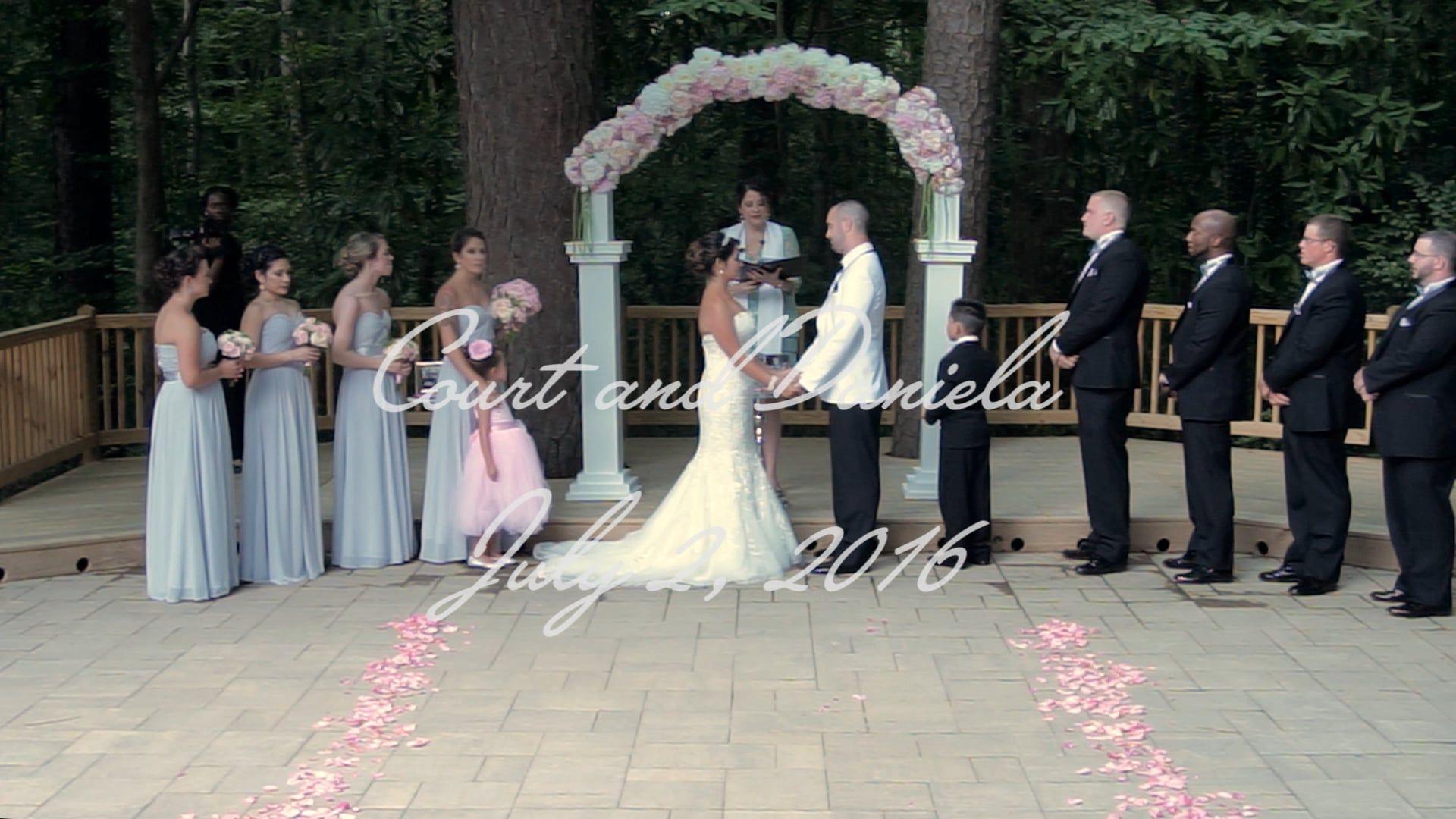 Wedding Video  The Glenwood Club - Raleigh, NC: Court and Daniela's Wedding Highlight Film