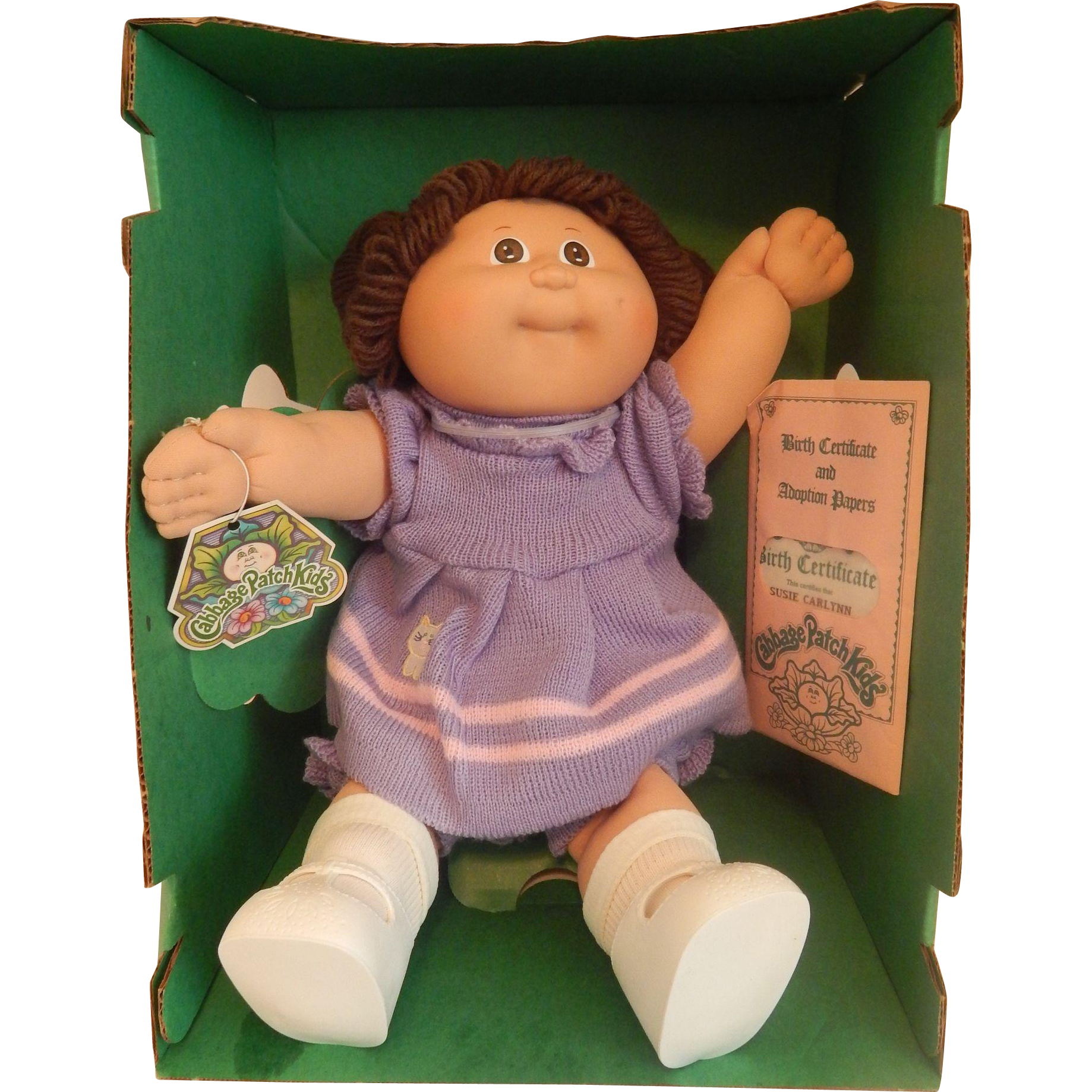 Cabbage Patch Kids Doll 1984 Cabbage Patch Kids Cabbage Patch Kids Dolls Patch Kids
