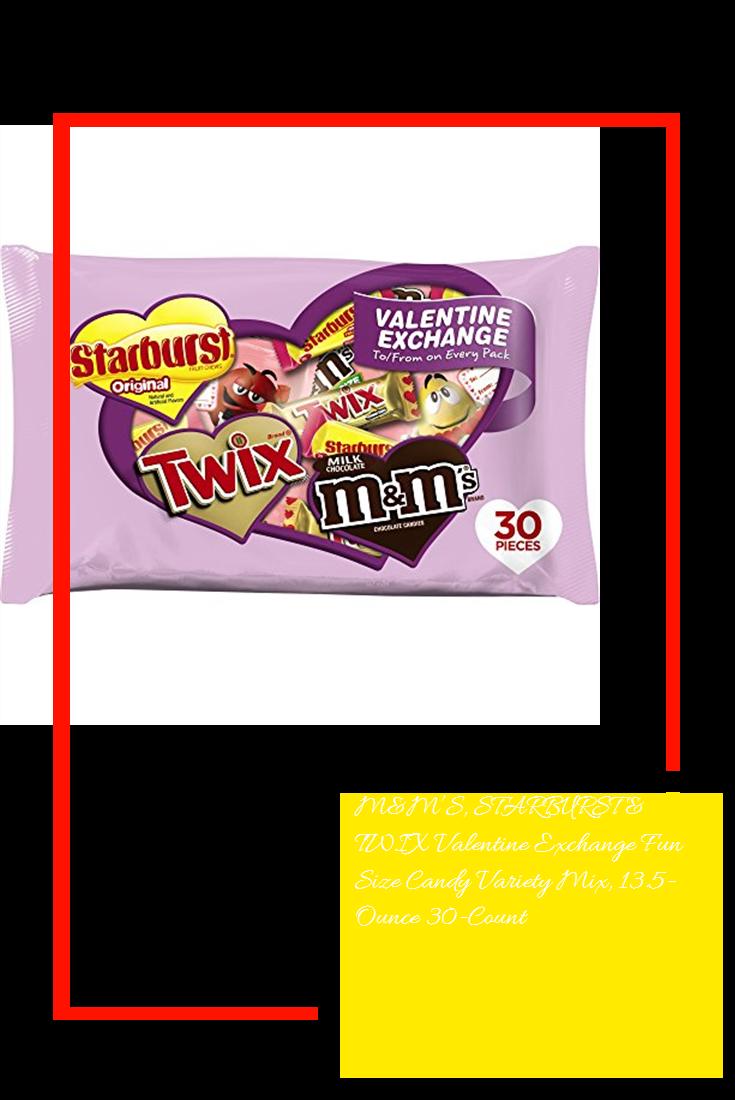 M&M'S, STARBURST & TWIX Valentine Exchange Fun Size Candy ...