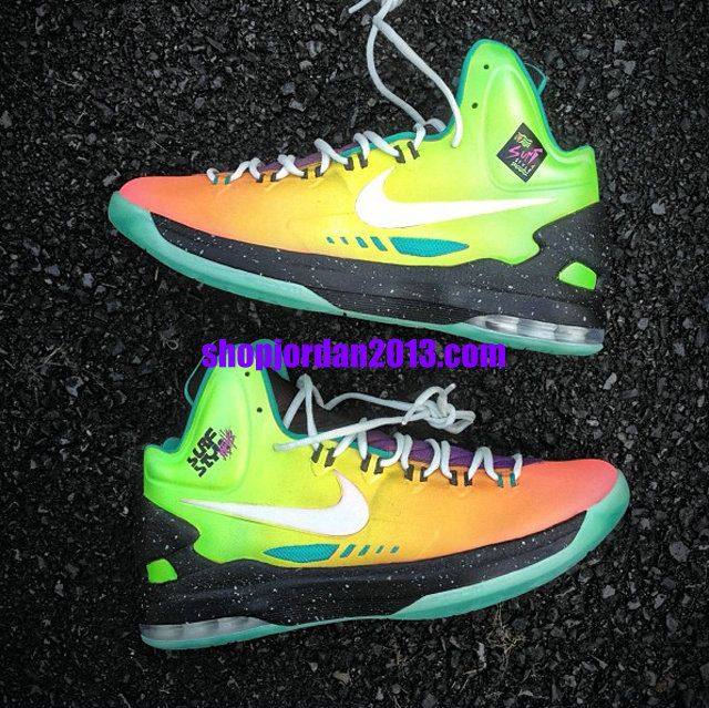 outlet store ed734 a8731 Nike Zoom KD 5(V) Surf Style Customs By Mache Kevin Durant Shoes