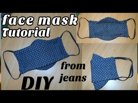 Photo of Diy face mask tutorial from jeans