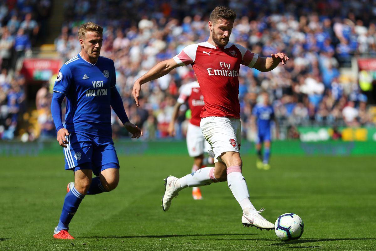 Epl Football 2018 19 Arsenal Vs Cardiff Football Reddit Soccer