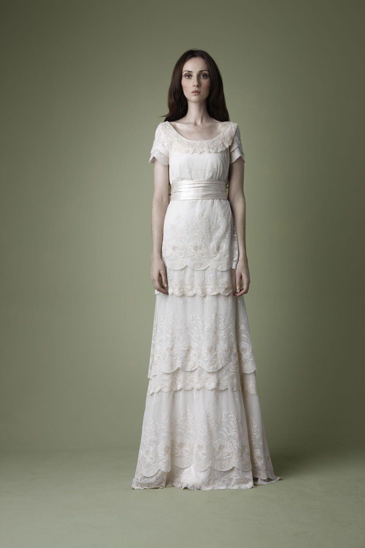 edwardian wedding dress replica