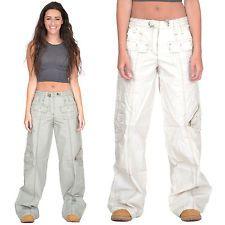 f9a7ba840f Baggy Wide Leg Loose Lightweight Combat Trousers Cargo Pants   My ...